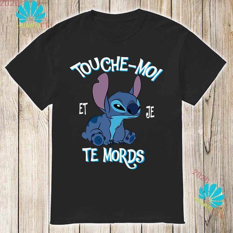 Stitch Touche Moi Et Je Te Mords Shirt